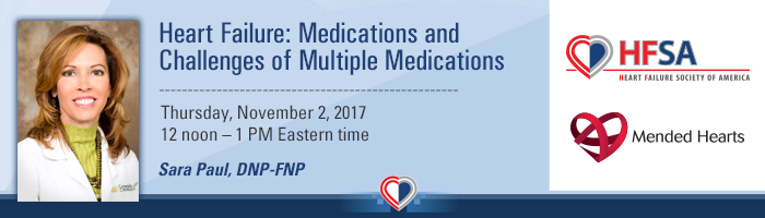 Heart Failure: Medications and Challenges of Multiple Medications